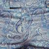 Afbeelding van Chenaski | Blauwe paisley pantalon met uitlopende pijpen