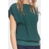 Afbeelding van ATO Berlin   Shirt Mona groen met rendiertjes print
