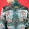 Afbeelding van Overhemd leopard print, groen
