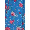 Afbeelding van Hell Bunny | Jurk Chantilly blauw met rozen