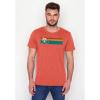 Afbeelding van Green Bomb | T-shirt Bike Speed, bio katoen, sun red