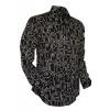 Afbeelding van Chenaski   Zwart wit seventies overhemd Moloko