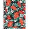 Afbeelding van Ato Berlin, overslag shirt Emma met tropische bloemen print