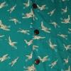 Afbeelding van Chenaski - Overhemd korte mouw, Crane, turquoise
