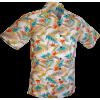 Afbeelding van Overhemd korte mouw, Fern creme