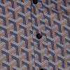 Afbeelding van Chenaski   Blauw seventies overhemd Bridges