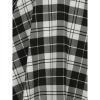 Afbeelding van Collectif | Skater skirt met bretels Lexi Monochrome zwart wit geruit