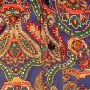 Afbeelding van Chenaski   Overhemd Seventies Big Paisley, blue