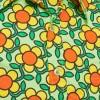 Afbeelding van Overhemd Seventies Flowergrid, green