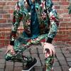 Afbeelding van Ato Berlin | pantalon Dino tropische print
