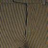 Afbeelding van Chenaski - Retro broek recht model, denim met zand-strepen