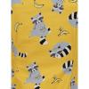 Afbeelding van Collectif | Top Dolores Ravenous Raccoons geel