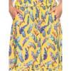 Afbeelding van Ato Berlin, rok Janet veren en paradijsvogel bloem print