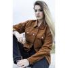 Afbeelding van Run & Fly   Ribcord jas 60s Western Trucker, tan brown