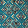 Afbeelding van Chenaski | Overhemd korte mouw, Rhombus, turquoise