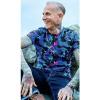 Afbeelding van Run & Fly | T-shirt met rainbow zebraprint