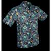 Afbeelding van Overhemd korte mouw, fern navy