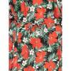 Afbeelding van Ato Berlin, lange jurk Gwen met tropische bloem print
