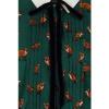 Afbeelding van Hell Bunny   Groene jurk Vixey met vosjes print