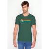 Afbeelding van Green Bomb   T-shirt Bike speed, bio katoen, bottle green