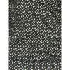Afbeelding van Ato Berlin, overslag shirt Emma zwart en groen veertjes patroon