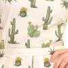 Afbeelding van Jurk retro cactus 50s 60s tea-partydress