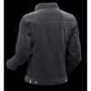 Afbeelding van Ribcord retro jas Zwart
