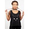 Afbeelding van Top Salem Grumpy Kitty, zwart