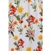 Afbeelding van Hearts & Roses - Swingjurk Sunflower, met bloemenprint, wit