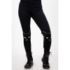 Afbeelding van Legging Salem Grumpy Kitty, high-waisted, zwart