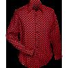 Afbeelding van Overhemd retro, 3 d grid red