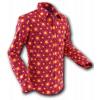Afbeelding van Overhemd Seventies Tube Violet