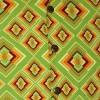 Afbeelding van Chenaski - Overhemd korte mouw, Rhombus, light green