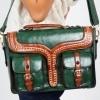 Afbeelding van Handtas Freya satchel, groen