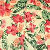 Afbeelding van Chenaski | Overhemd 70s Flowers, creme pink green