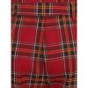 Afbeelding van Collectif | High-waisted rode tartan broek Thea Berry check