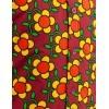 Afbeelding van Overhemd Seventies Flowergrid Bruin