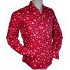 Afbeelding van Overhemd Dots and Spots Bordeaux