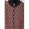 Afbeelding van Vest Retro Toni Zwart Bordeaux Multicolour