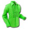 Afbeelding van Overhemd Ruche Lime