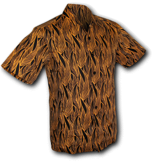 Overhemd Zwart Korte Mouw.Overhemd Korte Mouw Leaves Zwart Ovaltine Online Kopen