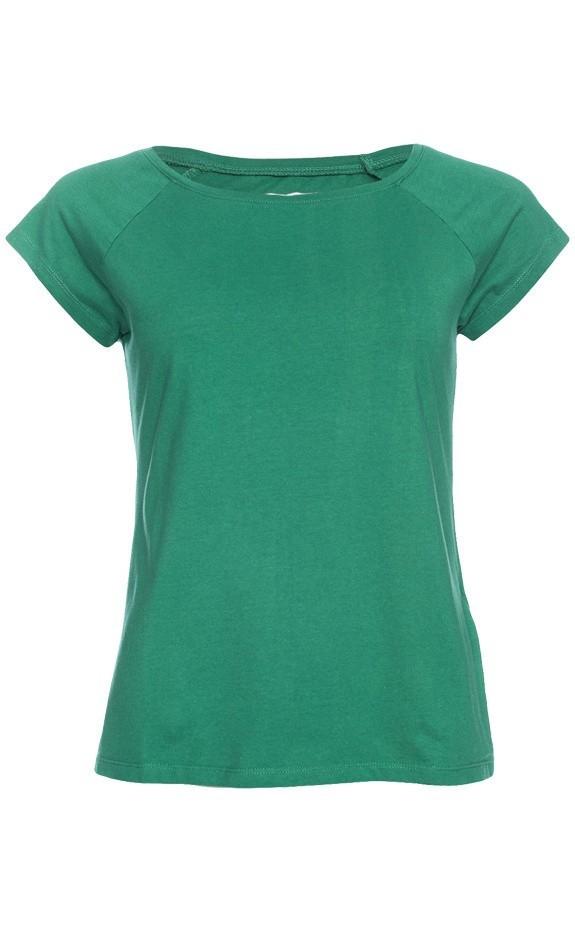 Ato Berlin - T-shirt Fini, Verda, tropisch groen