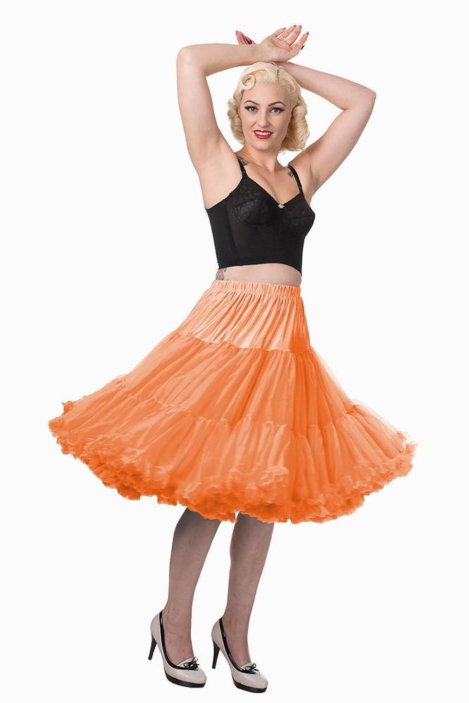 Banned - Petticoat Lifeforms, kuitlang met extra volume, oranje