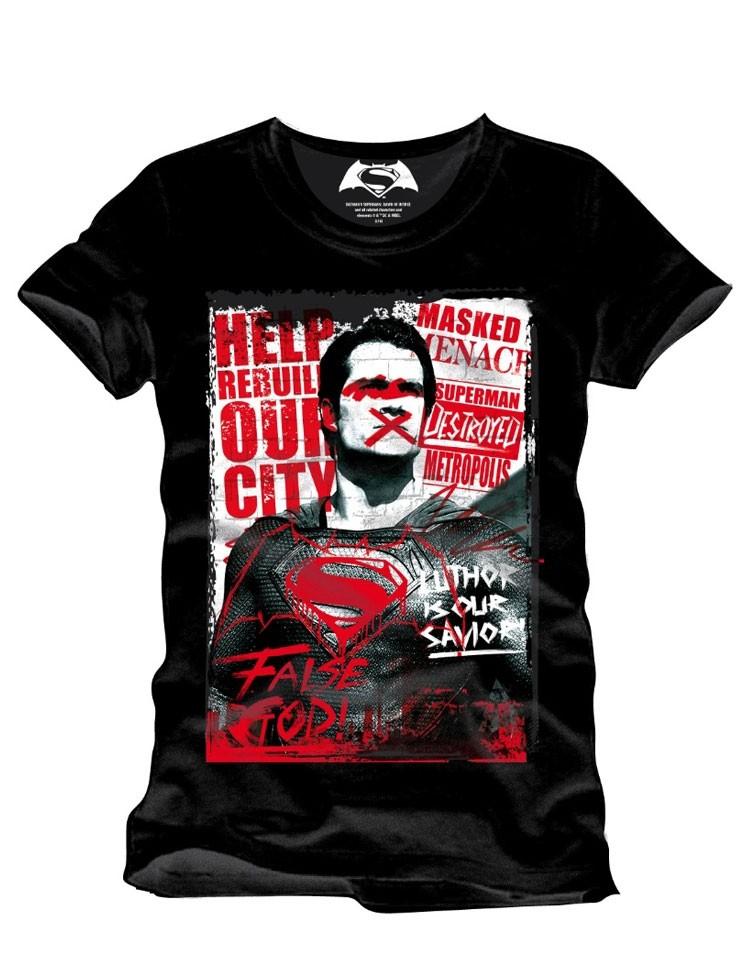 T-Shirt Superman Anti Hero