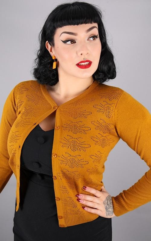 Cardigan Bee, pointellie gold