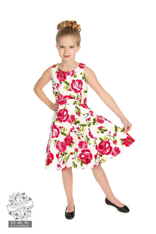 Kinderjurk Sweet rose swing model