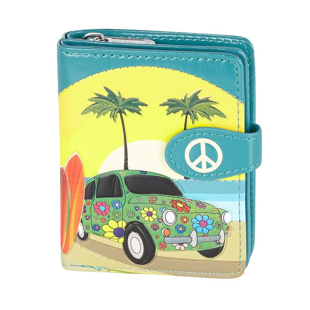 Portemonnee hippie surf