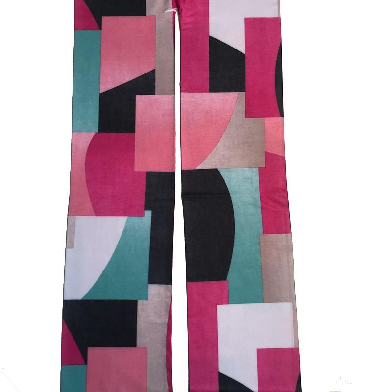 Panty grafische pastel blokken