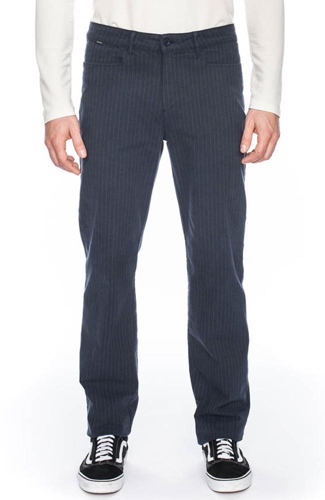 ATO Berlin | Pantalon Balou blauw met pin-stripe