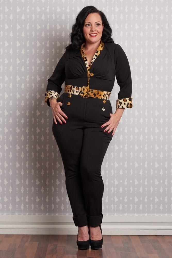 Broekpak Vilma met Luipaardprint